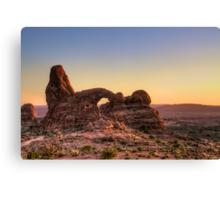 Arches National Park- Turret Arch Canvas Print