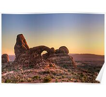 Arches National Park- Turret Arch Poster