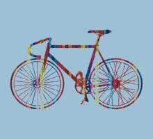 Rainbow Bike Kids Clothes