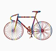 Rainbow Bike One Piece - Long Sleeve