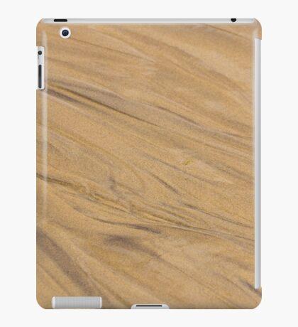 Golden Sand Pattern Background iPad Case/Skin
