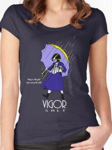 Vigor Salt Women's Fitted Scoop T-Shirt