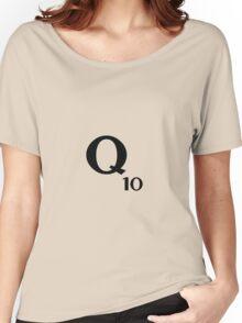 Q10 Scrabble  Women's Relaxed Fit T-Shirt