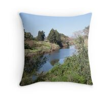 Paterson River, Paterson NSW Australia Throw Pillow