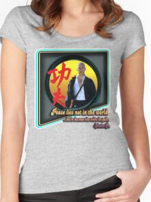 Kung Fu Women's Fitted Scoop T-Shirt