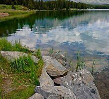Johnson Lake, Alberta by Harry Oldmeadow