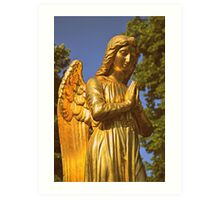 Golden Angel Art Print