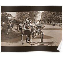 Flashing Lane- Appleby Horse Fair Poster
