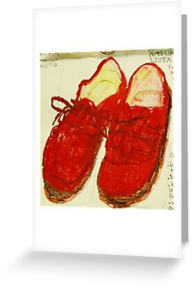 red shoes by donna malone