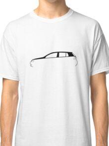 Silhouette Volkswagen VW Golf Mk5 Classic T-Shirt