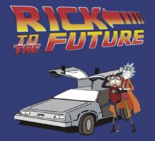 Rick and Morty To The Future by Aquilius