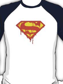 Super-man Bleeding Logo T-Shirt