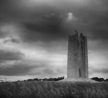 Canadian National War Memorial - Vimy Ridge by Nigel Jones