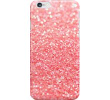 coral pink iPhone Case/Skin