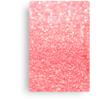 coral pink Canvas Print