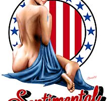 Sentimental Journey - Aircraft Art Pin-Up Girl by simonbreeze
