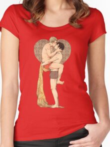 BBC Sherlock: Red Pants Women's Fitted Scoop T-Shirt