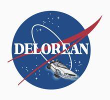 Delorean Nasa Logo by Aquilius