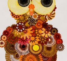Spirograph Owl! Sticker