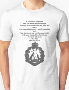 Skippy volunteer Unisex T-Shirt