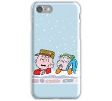 Good Grief it's Christmas Charlie Brown iPhone Case/Skin