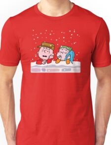 Good Grief it's Christmas Charlie Brown Unisex T-Shirt