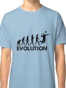 Evolution of a Volleyball Player Classic T-Shirt