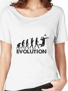 Evolution of a Volleyball Player Women's Relaxed Fit T-Shirt