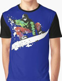 Snow Surfer Graphic T-Shirt