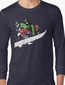 Snow Surfer Long Sleeve T-Shirt