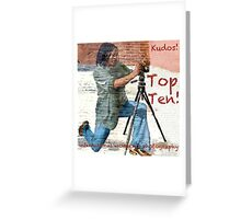 Banner Top Ten IWP Greeting Card