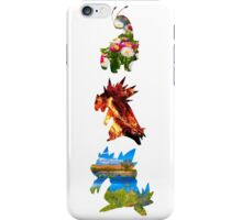 The evolved starters (johto) iPhone Case/Skin