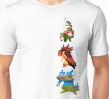 The evolved starters (johto) Unisex T-Shirt
