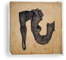 Anatomorphis Canvas Print