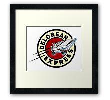 De Lorean Express Framed Print