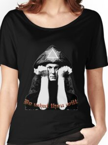 Aleister Crowley - Do what thou wilt Women's Relaxed Fit T-Shirt