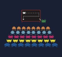 Retro T-Shirt - Space Invaders  Kids Tee