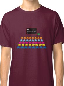 Retro T-Shirt - Space Invaders  Classic T-Shirt