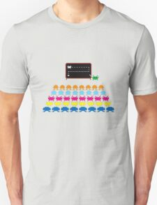 Retro T-Shirt - Space Invaders  Unisex T-Shirt
