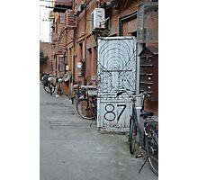 China Dream: Door 87 Photographic Print
