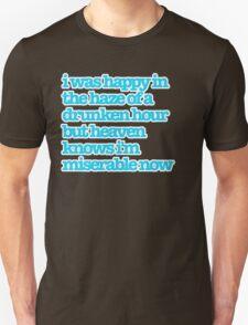 The Smiths Song Lyrics T-Shirt
