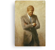 John F. Kennedy Painting  Canvas Print