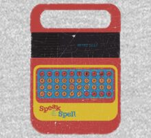 Vintage Look Speak & Spell Retro Geek Gadget Kids Tee