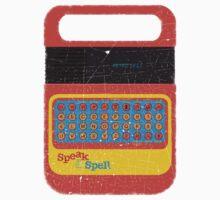 Vintage Look Speak & Spell Retro Geek Gadget Kids Clothes