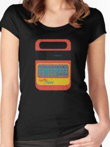 Vintage Look Speak & Spell Retro Geek Gadget Women's Fitted Scoop T-Shirt