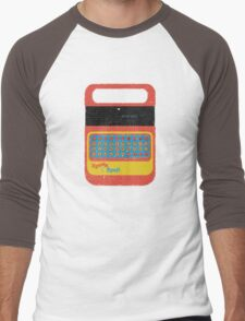 Vintage Look Speak & Spell Retro Geek Gadget Men's Baseball ¾ T-Shirt