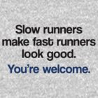 Slow Runners by flobaby