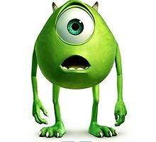 Mike Wazowski Monster inc by neutrone