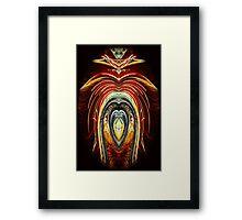 Firework Fandango Framed Print