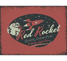 Red Rocket (Distressed) Photographic Print